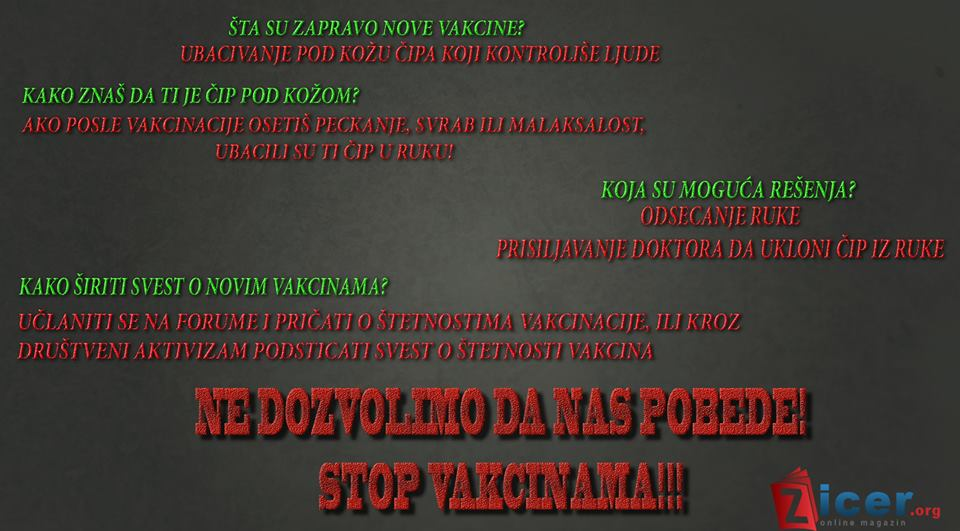 STOP vakcinama!!!