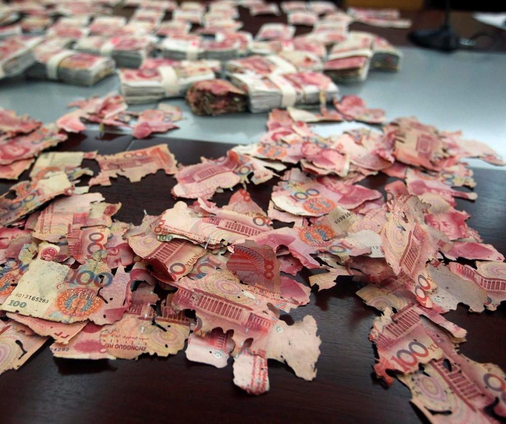 Naše upropašćene devizne rezerve: 400 000 juana koje je oštetio miš