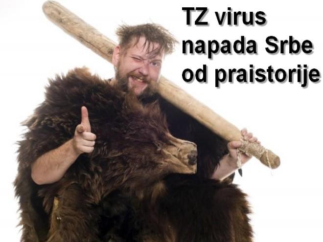 Još je pećinski Srbin bolovao od TZ virusa