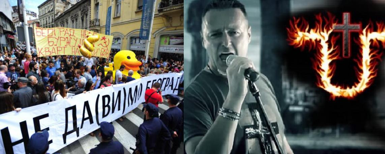 """Iza pokreta """"Ne da(vi)mo Beograd"""" stoji ustaški lobi iz Hercegovine!"""
