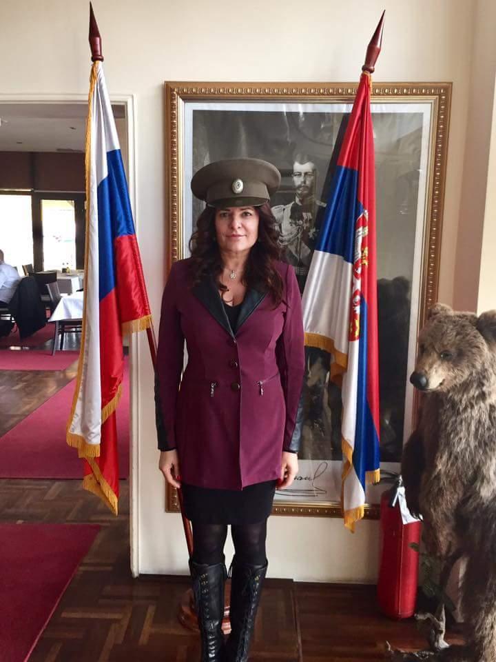 Danijela Sremac obožava Putina, Moskvu, Rusiju, vodku, i kavijar!