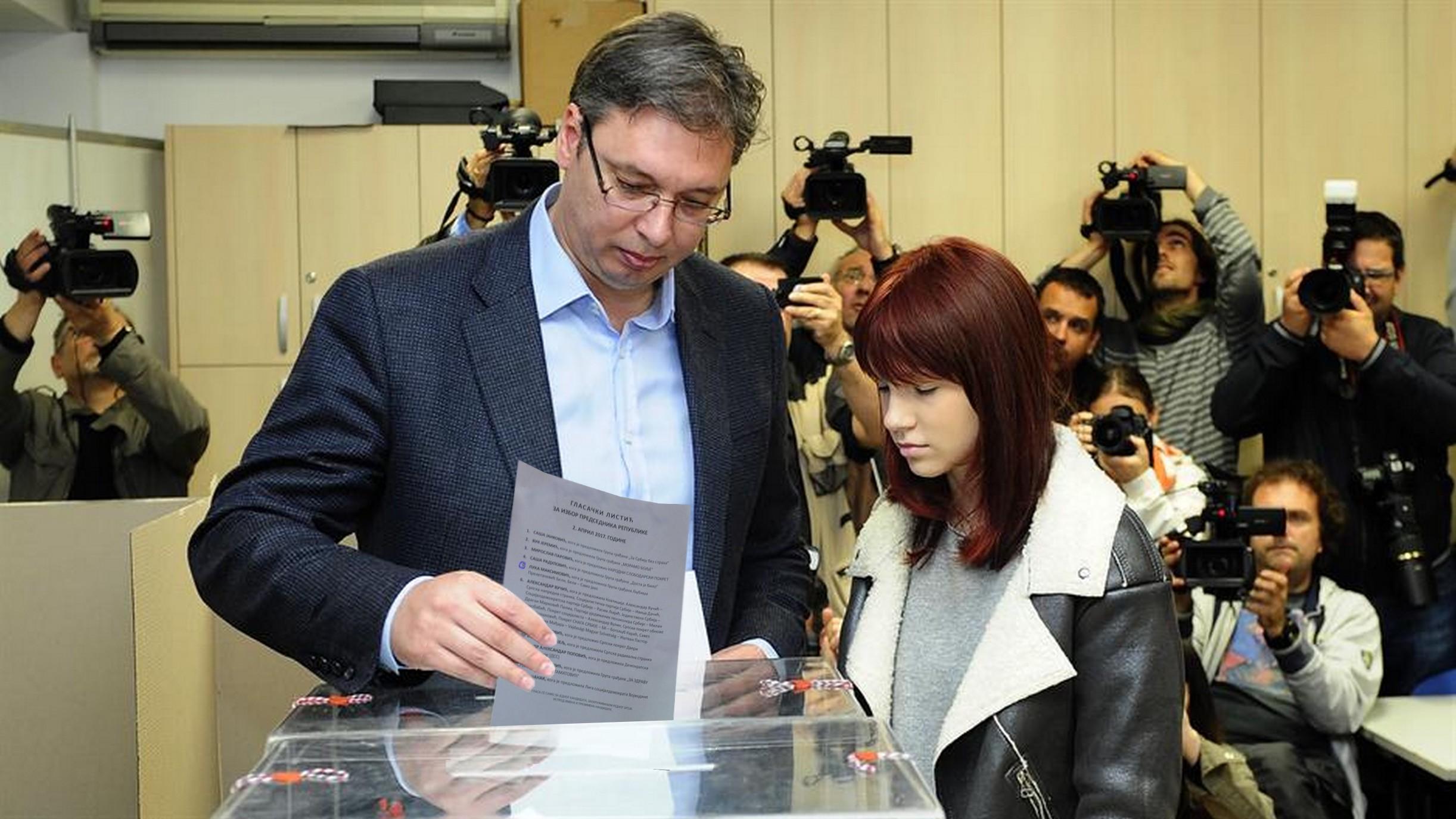 Saznajemo: U nedelju ujutro Vučić glasa za BELOG!!!