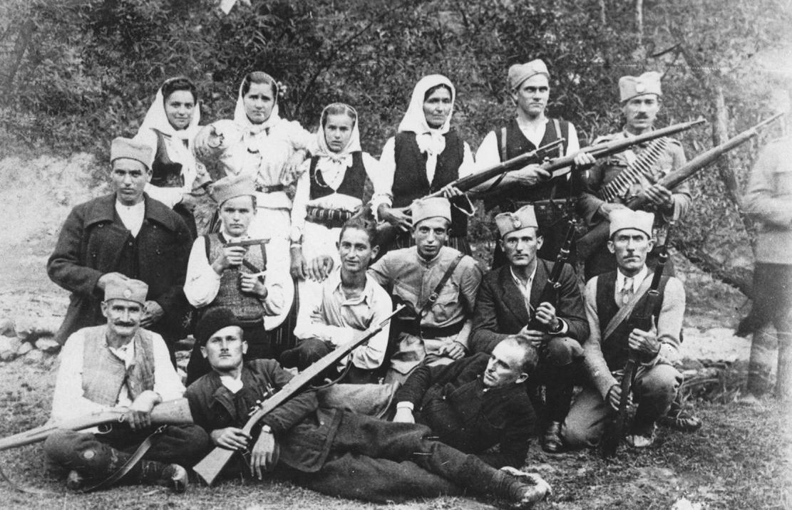 Četnici iz okoline Leskovca