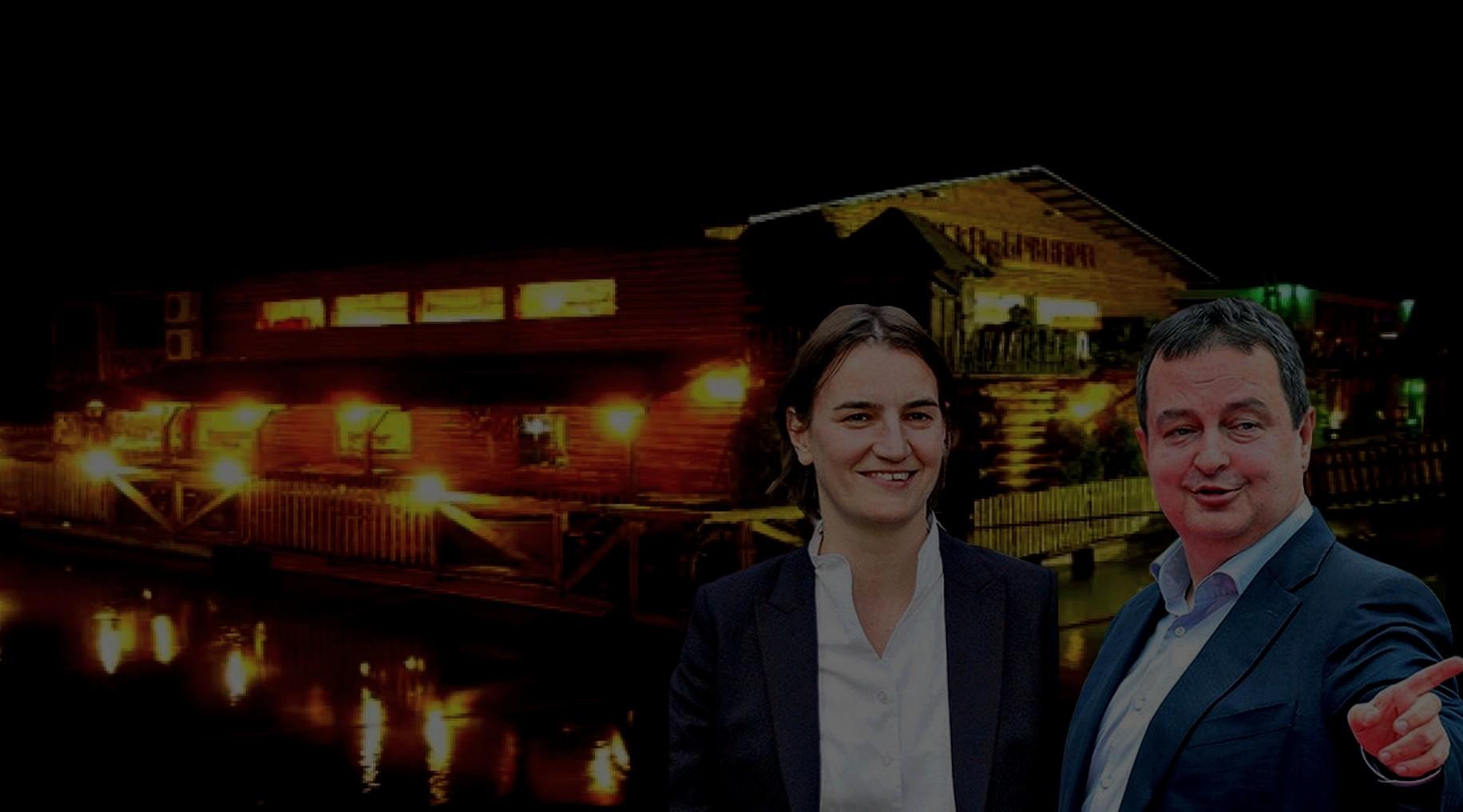 Dačić i Brnabić proslavili premijerstvo na SPLAVOVIMA!