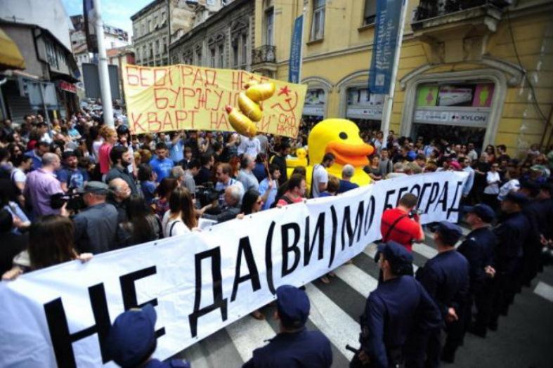"""Vođe pokreta """"Ne davimo Beograd"""" dobili stanove u novim zgradama na SAVAMALI!"""
